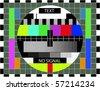 Monoscope - stock vector
