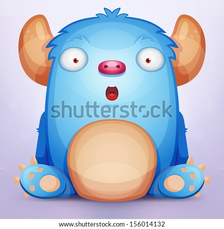 Monster - stock vector