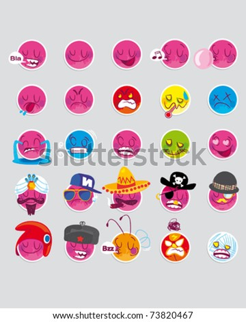 mood icon - stock vector