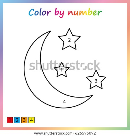 moon stars icon outline illustration moon stock illustration 504419242 shutterstock. Black Bedroom Furniture Sets. Home Design Ideas