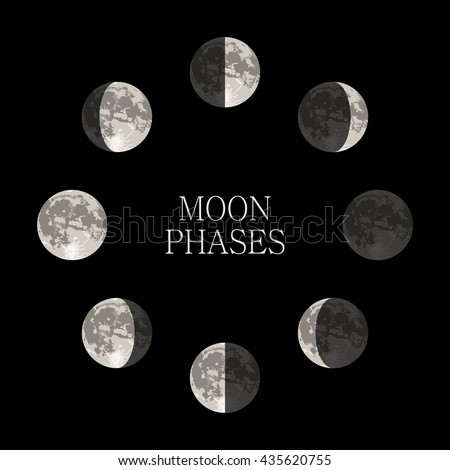 lunar phases in space - photo #17