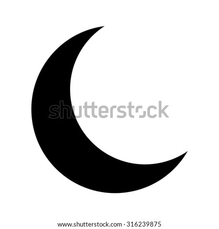 moon vector icon stock vector 316239875 shutterstock rh shutterstock com moon vector free downloads moon vector free