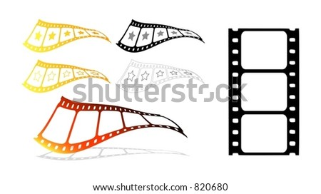 More from the film strip series (Vectors 41)