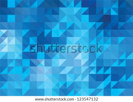 mosaic abstract background - stock vector