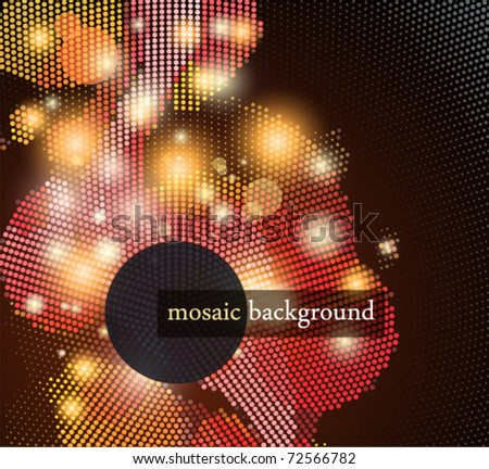 Mosaic Background.
