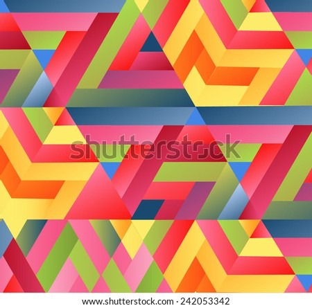 mosaic background. Vector illustration - stock vector