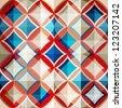 mosaic glass seamless pattern - stock vector