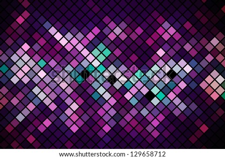 Mosaic Magenta Vector geometric background EPS 10 - stock vector