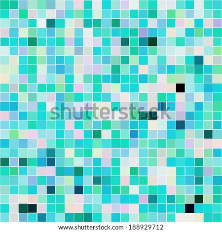 Mosaic tiles. Seamless pattern.EPS 10. - stock vector