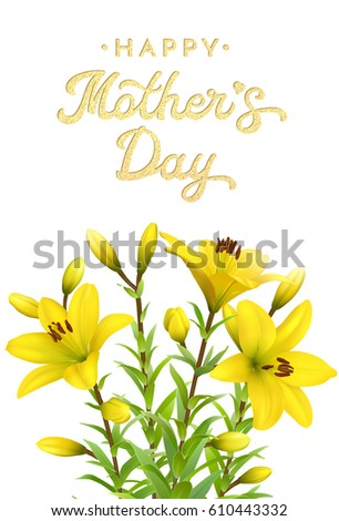 Golden Lily Stock Images, Royalty-Free Images & Vectors | Shutterstock