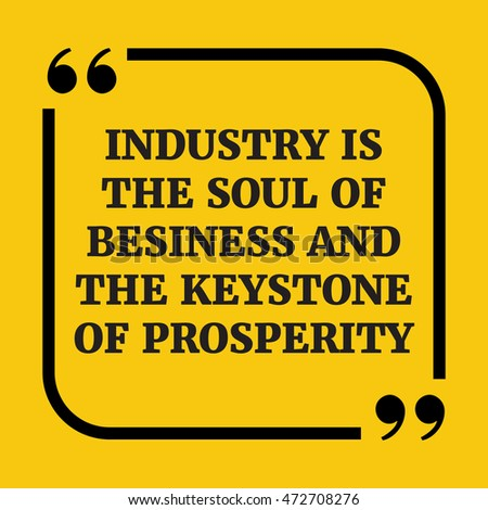 image Industry is the soul of business