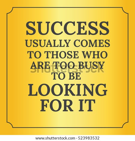 Success comes to those who dare and act speech
