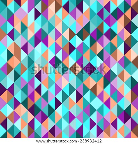 motley abstract triangular polygonal geometric background for use in design