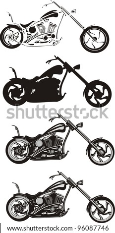 Chopper Motorcycle Stock Images, Royalty-Free Images & Vectors ...