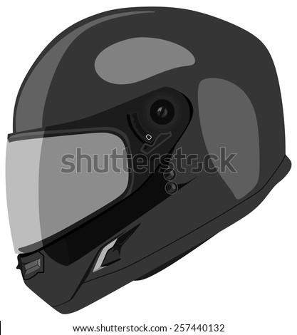 Motorcycle Helmet Stock Vectors & Vector Clip Art ...