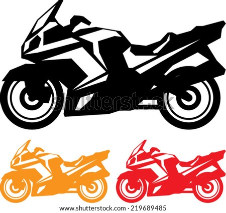 motorcycle vector stock vector royalty free 219689485 shutterstock rh shutterstock com indian motorcycle vector art motorcycle clip art vector