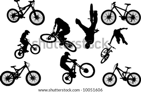 Mountain Bikers and Bikes