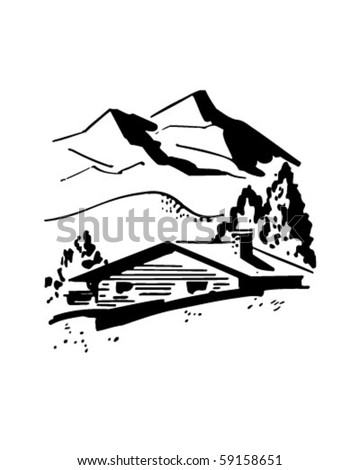 Mountain Cabin Stock Images, Royalty-Free Images & Vectors ...