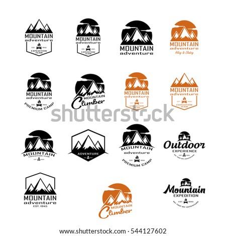 Mountain Logo Stock Vector 544127506 - Shutterstock