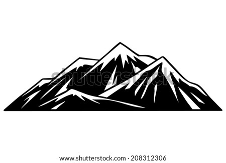 Mountain Outline Stock Images, Royalty-Free Images ...
