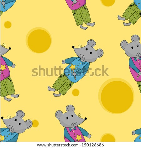 Mouse seamless pattern