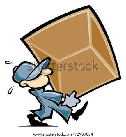 Mover - stock vector