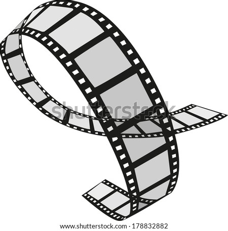 movie film - stock vector