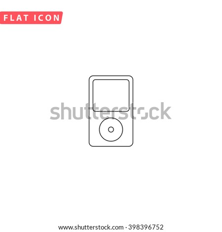 MP3 player Icon Vector. MP3 player Icon JPEG. MP3 player Icon Picture. MP3 player Icon Image. MP3 player Icon Art. MP3 player Icon JPG. MP3 player Icon EPS. MP3 player Icon AI. MP3 player Icon Drawing - stock vector
