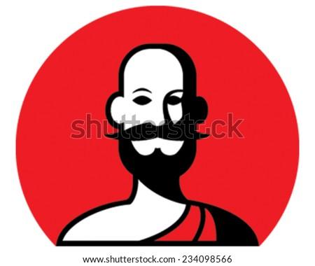 Mr Guru - stock vector