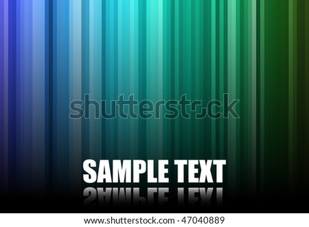Multicolor Stripes Background - stock vector