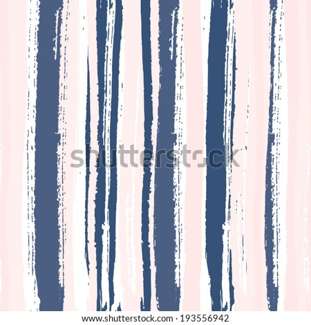 Multicolor watercolor line seamless pattern. Abstract background with hand drawn stripes. Vector watercolor lines background. Abstract multicolor texture.  - stock vector