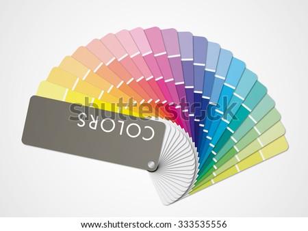 Multicolors tone - stock vector