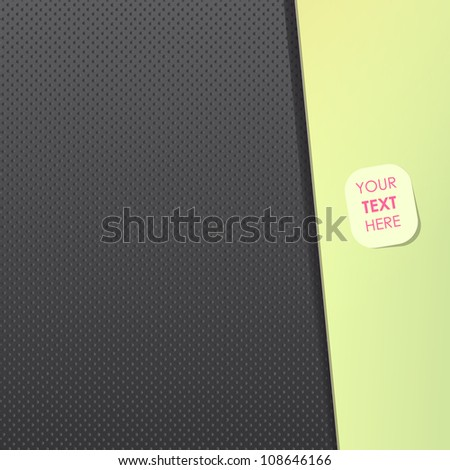Multiple dots in black abstract texture. Vector background. - stock vector