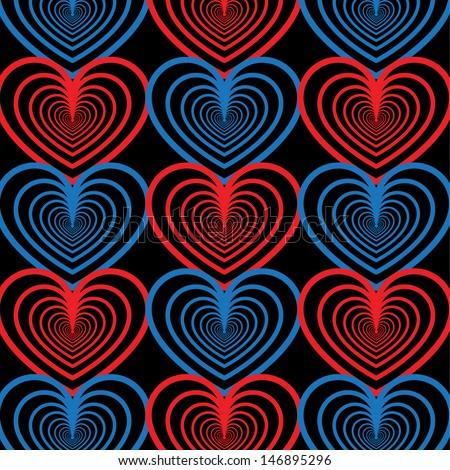 Multiple Heart Pattern