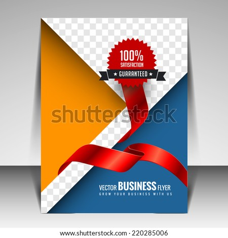 Multipurpose Modern Business Brochure and Flyer template design can be use for publishing, print and presentation. - stock vector
