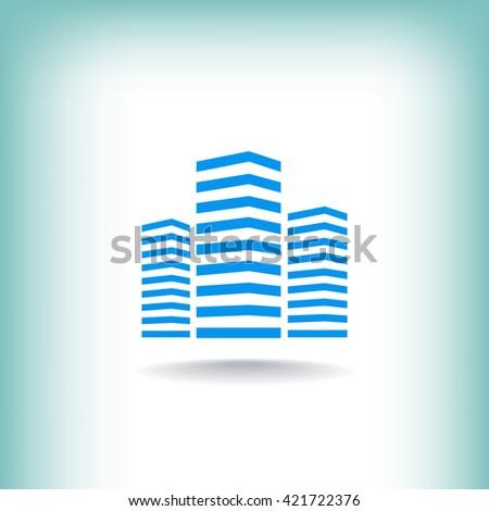 Multistory building icon. Multistory building icon Vector. Multistory building icon Art. Multistory building icon eps. Multistory building icon Image. Multistory building icon logo.  - stock vector