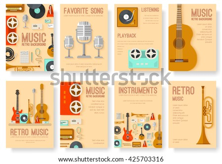 Music cover. Music concept. Music background. Music creative. Music poster. Music invite. Music brochure. Music festival. Music design. Music cards. Music book. Music jpg. Music eps. Music infographic - stock vector