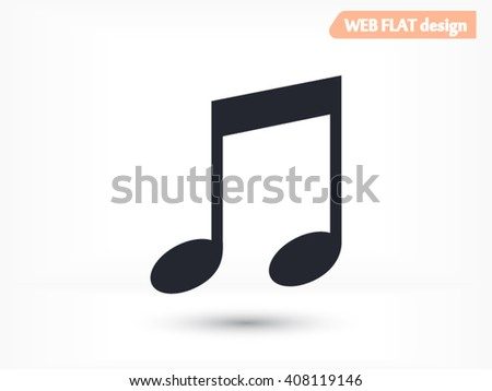 Music icon, Music icon eps 10, Music icon vector, Music icon illustration, Music icon jpg, Music icon picture, Music icon flat, Music icon design, Music icon web, Music icon art, Music icon JPG - stock vector