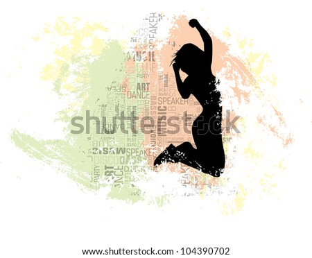 Music illustration - stock vector