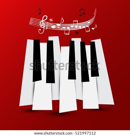 Piano Keyboard Stock Images Royalty Free Images Amp Vectors