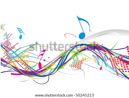 Music theme for more vector background of this type please visit my gallery - stock vector