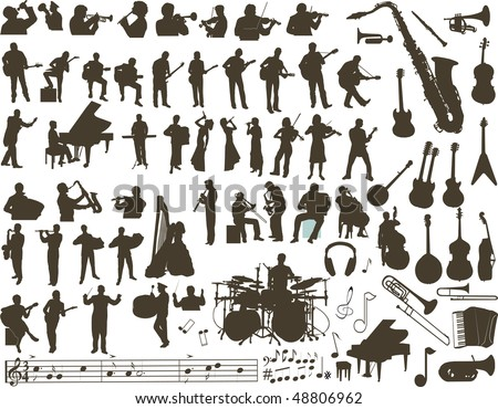 Music vector - stock vector