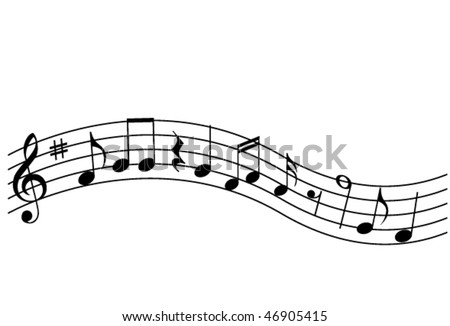 Musical Notes - stock vector