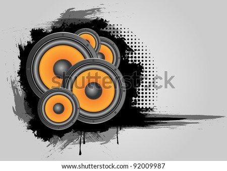 Musical vector with speaker