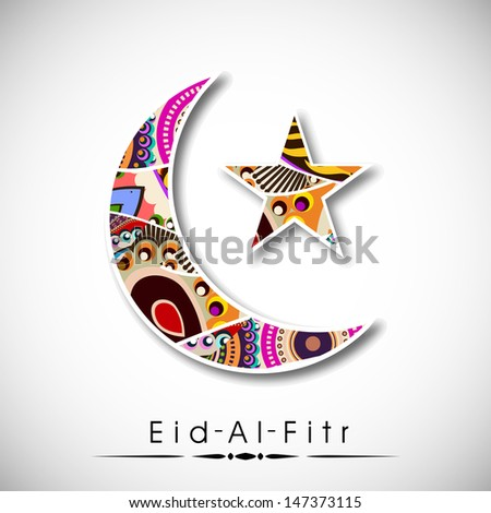 Amazing Festival Eid Al-Fitr Decorations - stock-vector-muslim-community-festival-eid-al-fitr-eid-mubarak-with-floral-decorated-moon-and-star-on-abstract-147373115  Pic_208952 .jpg