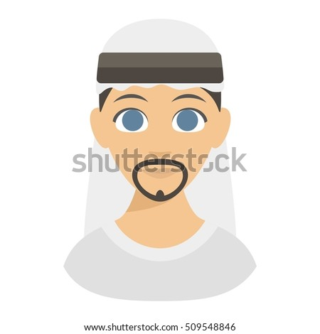Muslim religious man traditional islamic adult