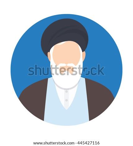 Scholar stock images royalty free images vectors shutterstock muslim scholar vector icon stopboris Images