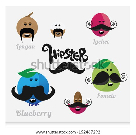 Mustaches (HIPSTER)