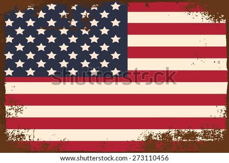 my american dream, illustration in vector format - stock vector