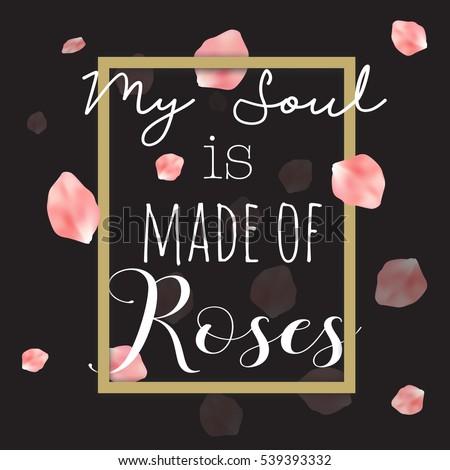 gold frame rose petals - photo #11
